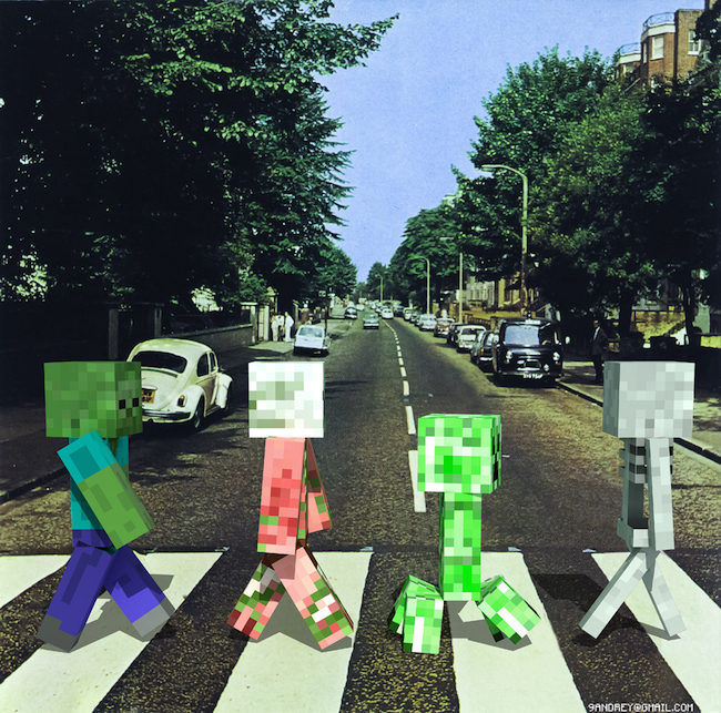 Minecraft Beatles