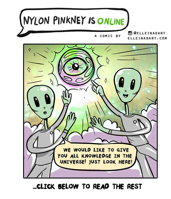 Nylon Pinkney social media comic