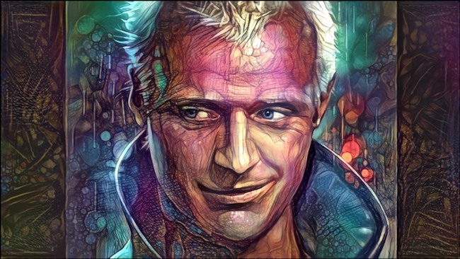 Roy Batty AI Deep Dream Nettrice Gaskins
