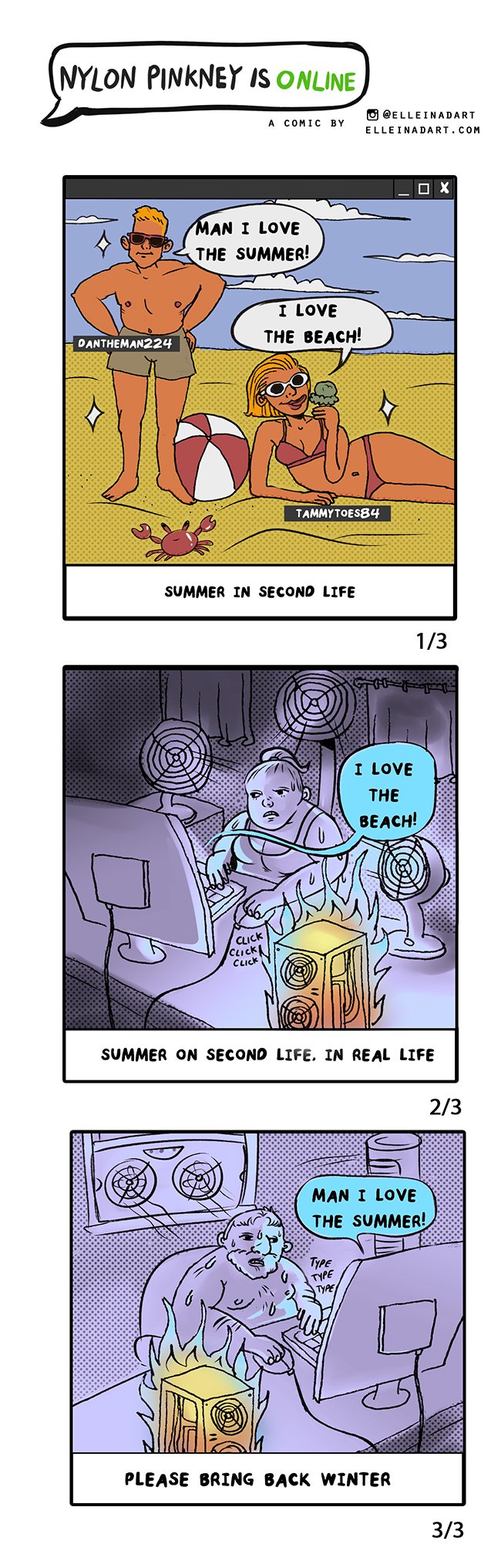 Game comic mmo nylonisonline