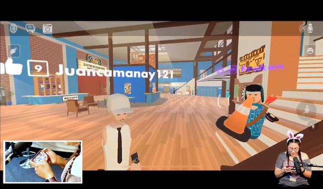 Rec Room social VR iOS cross platform community