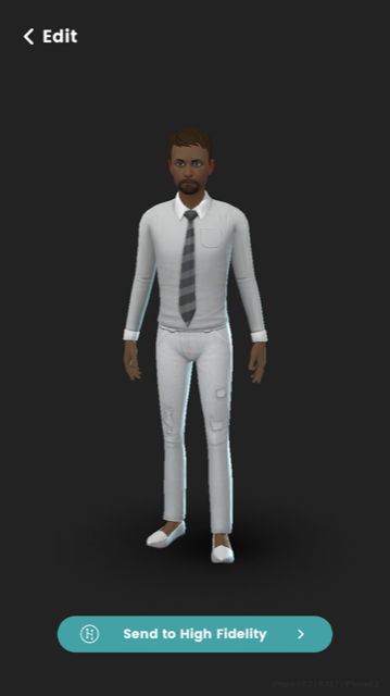 High Fidelity SL avatar