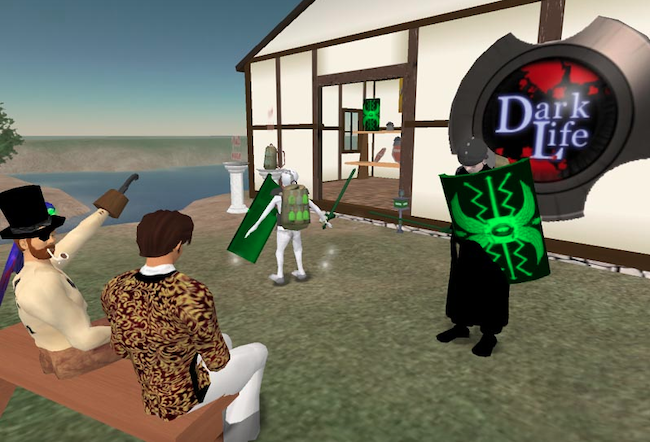 Second Life graphics update MMO