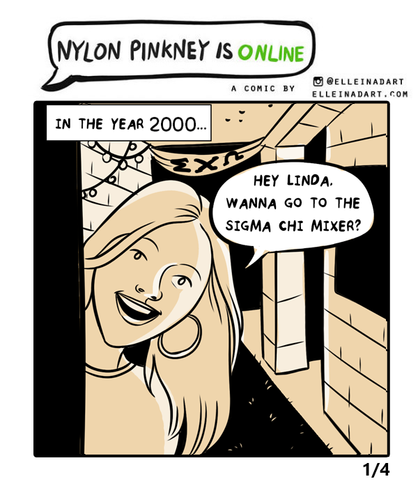 20 years Sims comic Nylon Pinkney