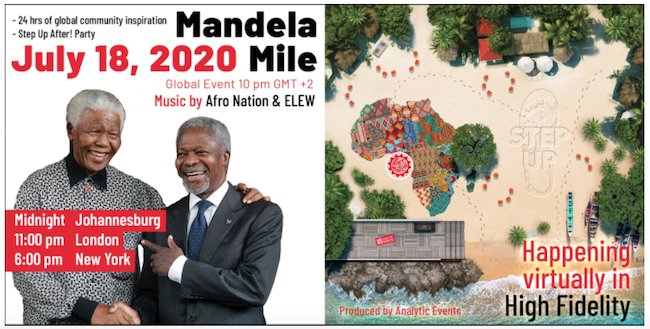 High Fidelity Mandela Mile virtual event