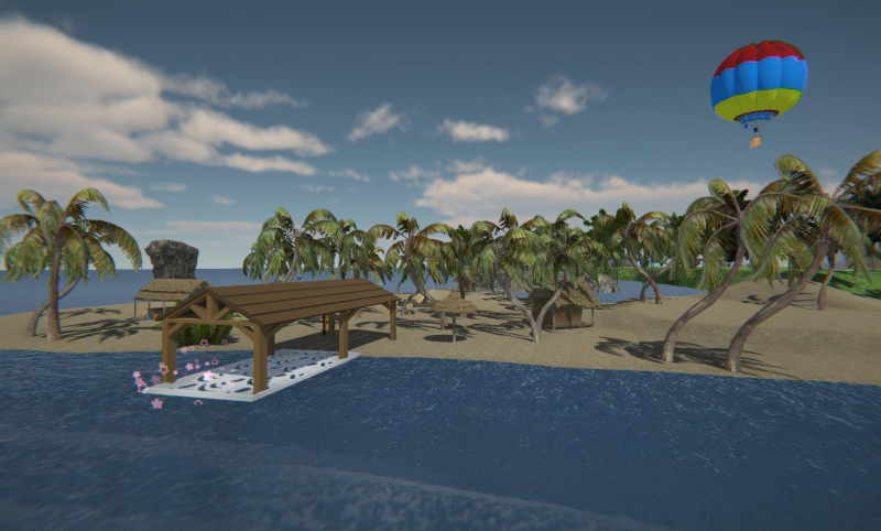 Sinespace Discovery Island
