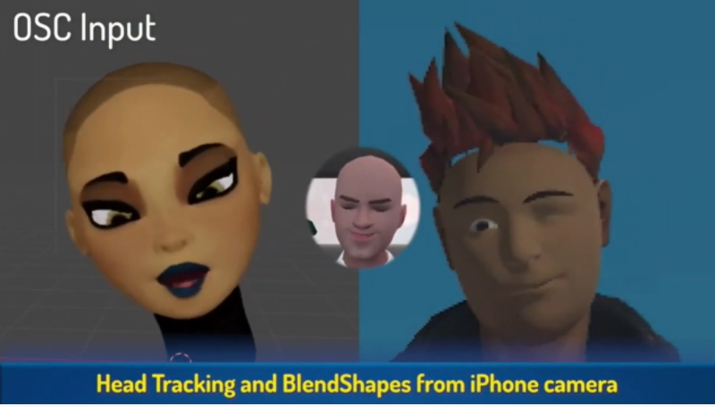 VRChat head tracking iPhone