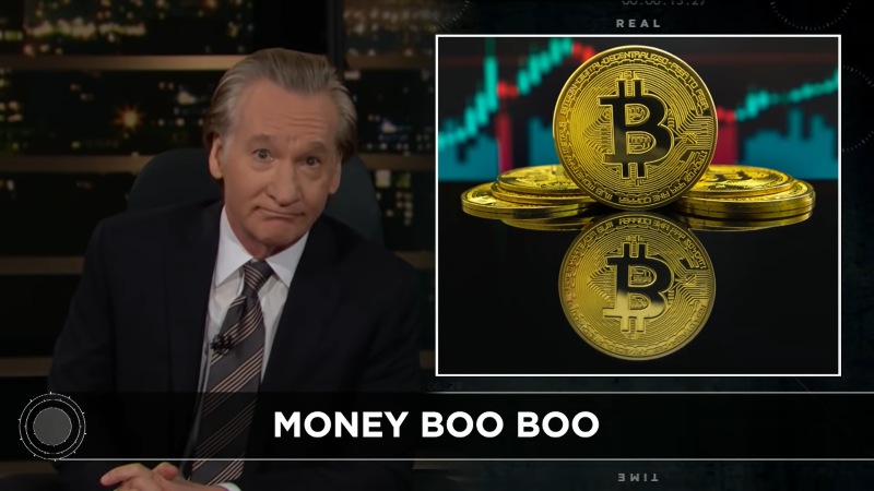 Bill Maher Cryptocurrency Bitcoin