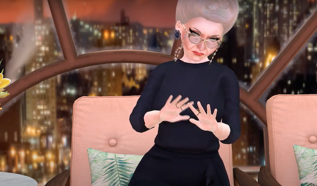 Granny Magnolia Wrigglesworth SL video humor