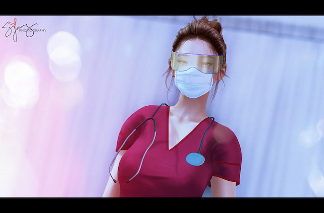 SL blog medical worker fashion COVID style