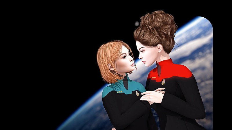 Star Trek LGBT avatar cosplay SL