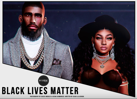 Black Lives Matter SL Virtual World
