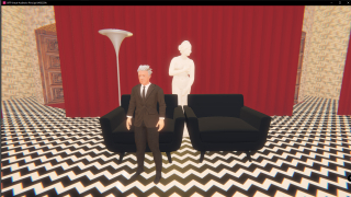David Lynch avatar virtual world Breakroom film festival