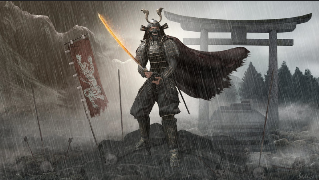 SL samurai ghosts of Tsushima