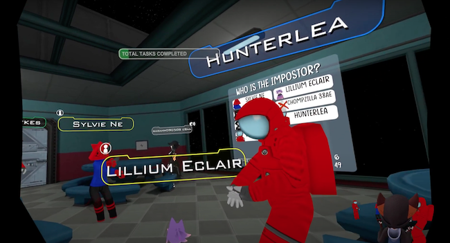 VRChat Among Us game