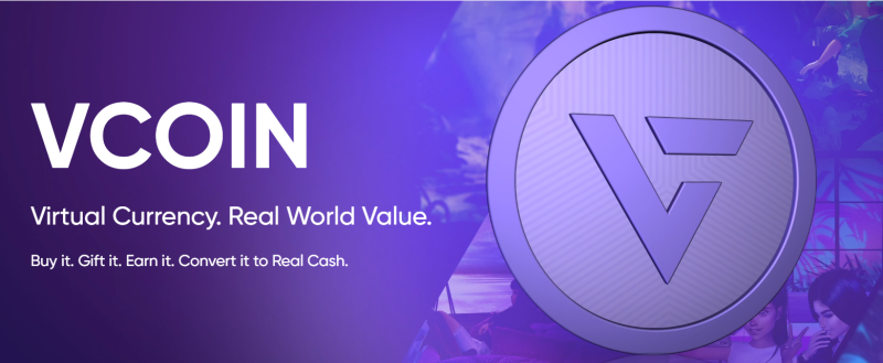 VCOIN Ethereum Currency blockchain IMVU virtual world