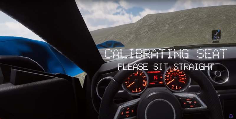 VRChat driving simulation game