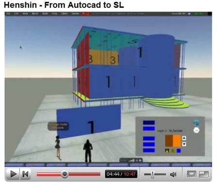 Autocad in Second Life