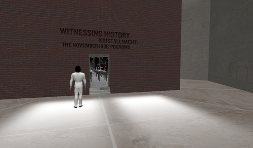 Kristallnacht remembered in second life is the metaverse ready to