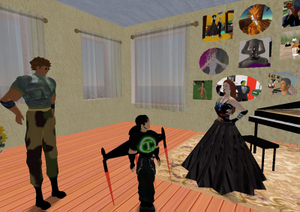 Baccara_greets_some_guests_1