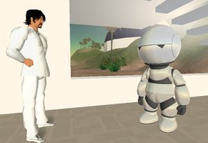 Marvin in Second Life