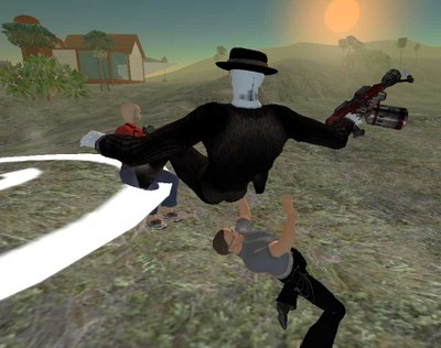 Zombie_launches_melee_attack_doctorow_in